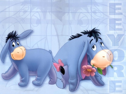 Winnie the Pooh wallpaper titled Eeyore Wallpaper