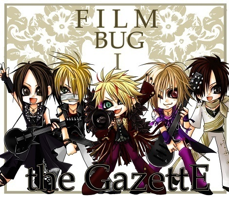 팬 art The Gazette Chibi