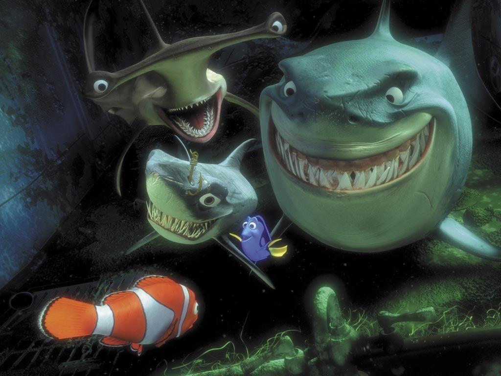 Finding Nemo kertas dinding