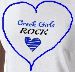 Greek girls wolpeyper probably with a jersey titled Greek girls rock