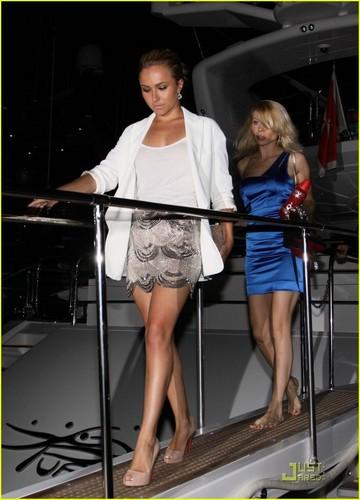 Hayden in Cannes