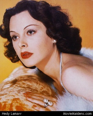 Classic Movies wallpaper containing a portrait titled Hedy Lamarr