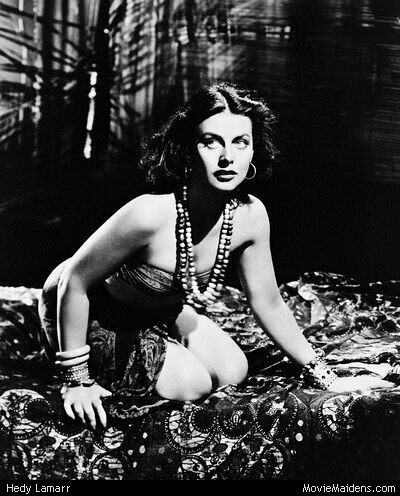 Classic Movies wallpaper probably with a swimsuit, a leotard, and an undergarment called Hedy Lamarr