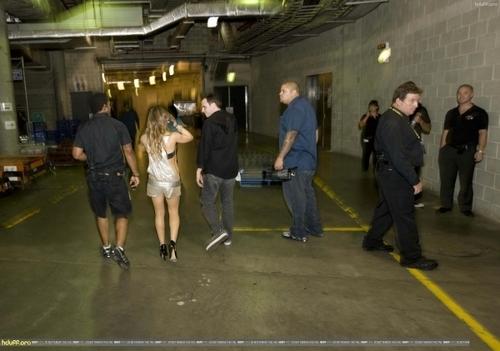 Hilary Backstage @ Dignity konsiyerto