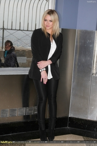 Hilary in NYC