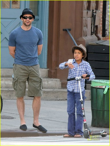 Hugh and son :)