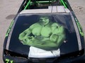 Incredible Hulk race car