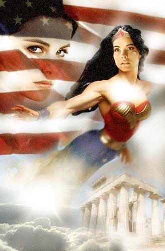 "Jaimie as ""Wonderwoman"""
