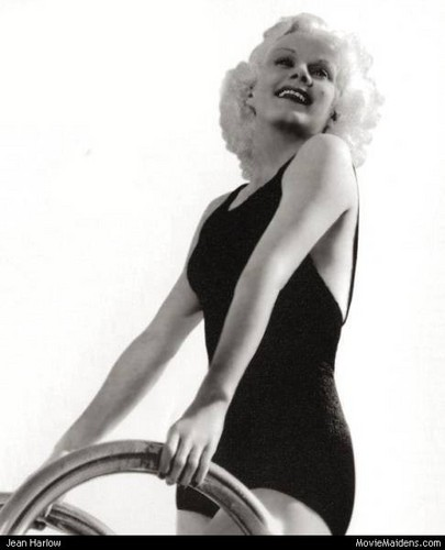 Classic Movies wallpaper probably with a leotard, tights, and a maillot called Jean Harlow