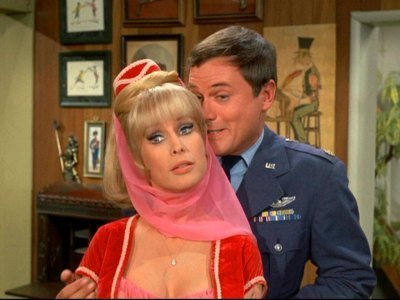 Jeannie and Major Nelson