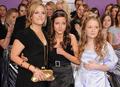 Jo Joyner, Maddie Duggan and Lorna Fitzgerald