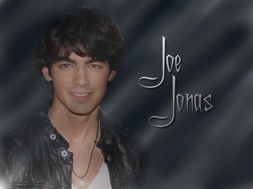 The Jonas Brothers wallpaper with a portrait called Joe