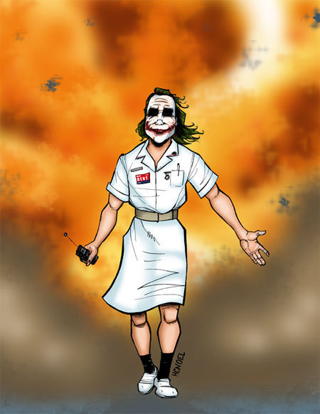 nurse wallpaper. heath ledger joker wallpaper.