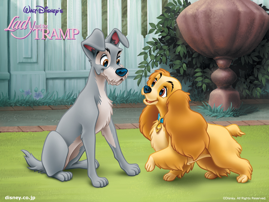 Lady and the Tramp Cartoon Disney