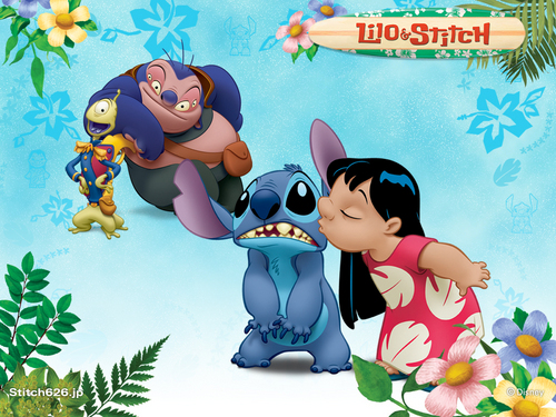 Lilo and Stitch Обои