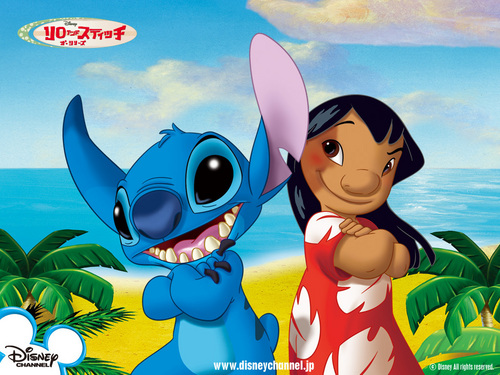 Lilo & Stitch wallpaper called Lilo and Stitch wallpaper