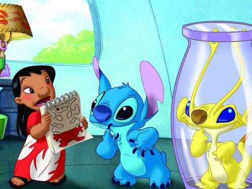 Lilo & Stitch wallpaper titled Lilo and Stitch wallpaper