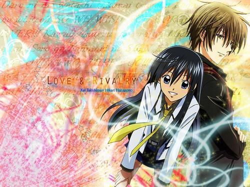 Special A wallpaper possibly containing anime entitled Love-Rivalry-Special A