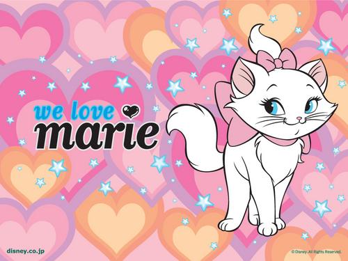 Marie Обои
