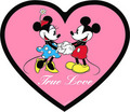 Mickey muis and Minnie muis
