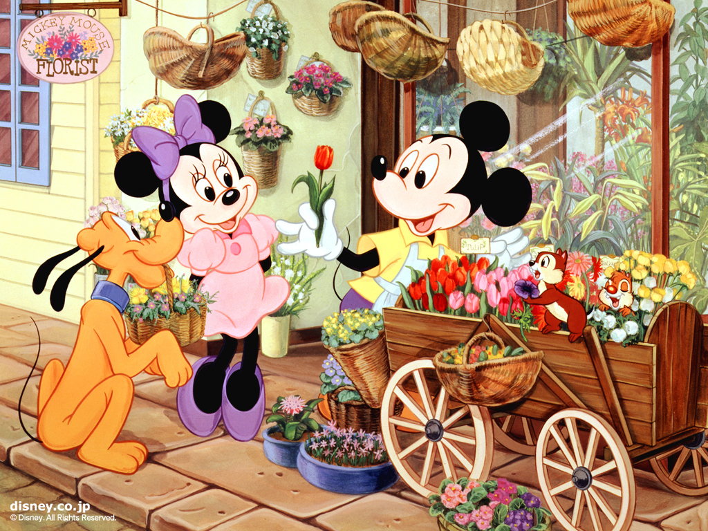 Mickey and Minnie Wallpaper