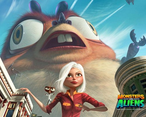 monsters vs aliens deutsch