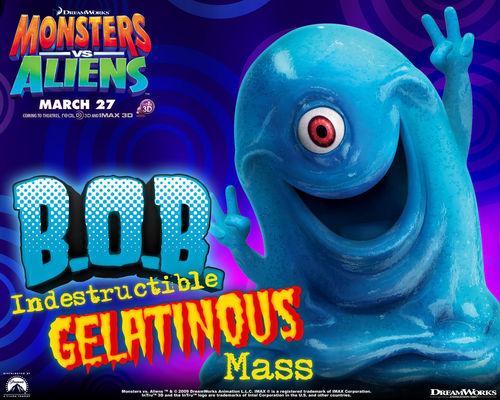 Monsters vs Aliens پیپر وال