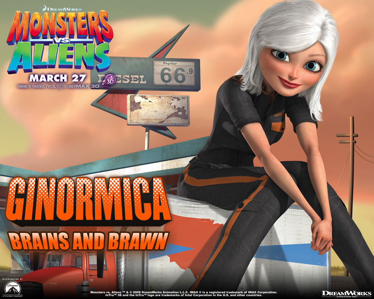Monsters vs aliens susan
