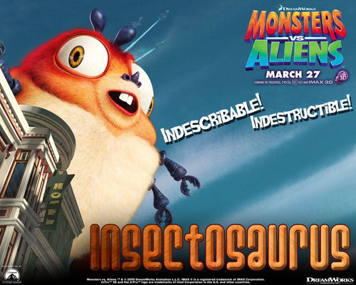 Monsters vs Aliens پیپر وال