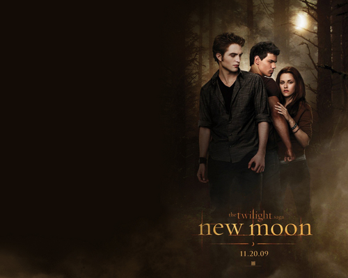 achtergrond Version of Official New Moon Poster
