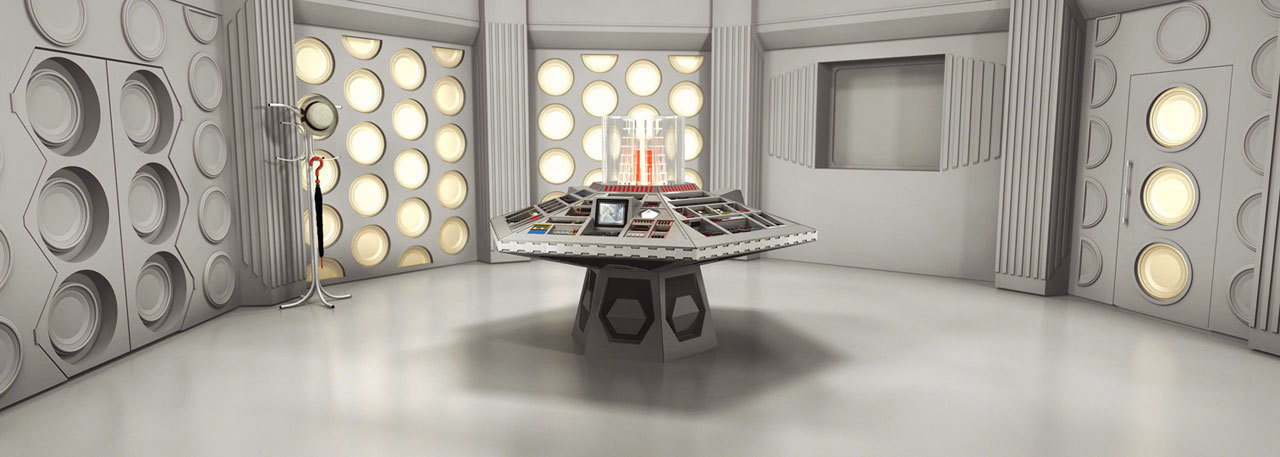 Doctor Who Set Design Of Control Room