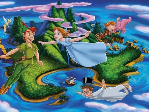 Peter Pan پیپر وال