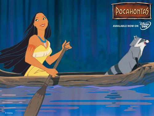 Pocahontas 壁纸