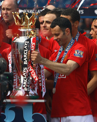 Manchester United 바탕화면 entitled Premier League Champions 08/09