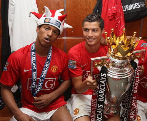 Manchester United پیپر وال possibly containing a bouquet entitled Premier League Champions 08/09