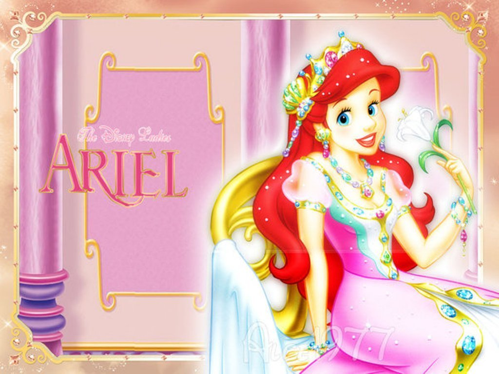 مكتبة ضخمة من صور ورمزيات اميرات ديزني Princess-Ariel-disney-princess-6260002-1024-768