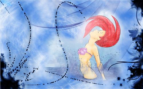 Walt ディズニー 壁紙 - Princess Ariel