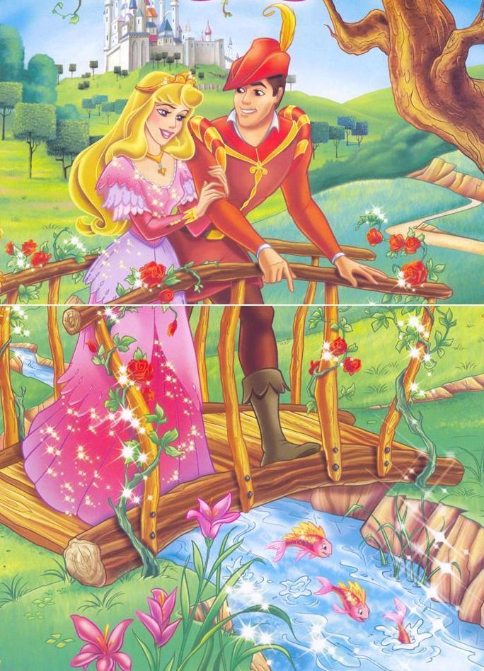 Princess Aurora and Prince Philip - Disney Couples Photo