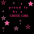 Proud to be a greek girl
