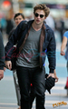 Rob Leaving Vancouver - twilight-series photo