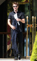 Robert Pattinson leaving the Eden Roc hotel - May 19 - twilight-series photo