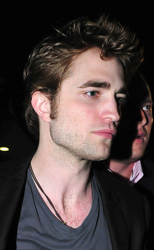 Robert Pattinson out in Cannes - May 18