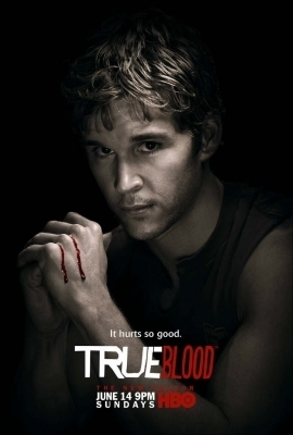 True Blood karatasi la kupamba ukuta possibly with a portrait titled Season 2 Posters