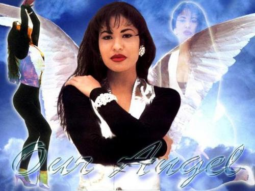 Selena Quintanilla-Pérez 壁紙 probably with a portrait titled Selena