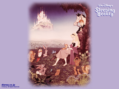 Sleeping Beauty 壁紙