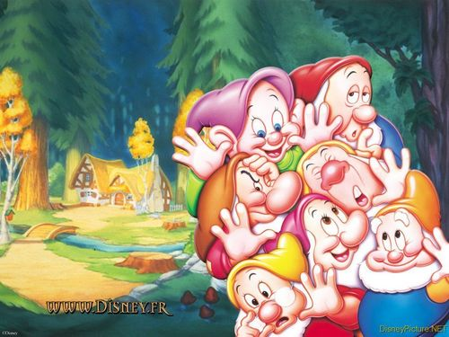 Snow White and the Seven Dwarfs 바탕화면
