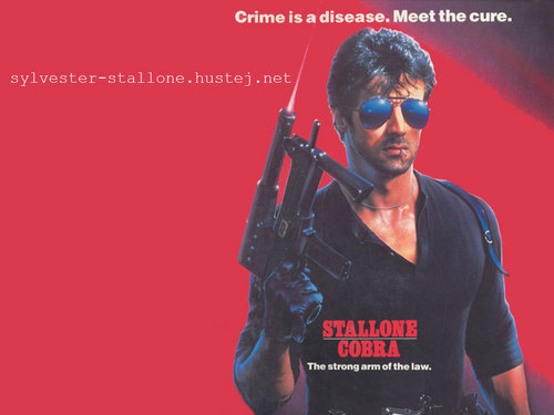 Sylvester Stallone wallpaper containing sunglasses and a rifleman titled Sylvester Stallone as Marion Cobretti