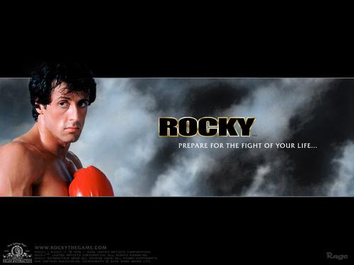Sylvester Stallone wallpaper called Sylvester Stallone as Rocky Balboa