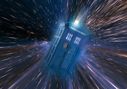 Tardis wallpaper titled Tardis in Space