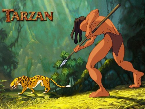 Tarzan Wallpaper - walt-disneys-tarzan Wallpaper